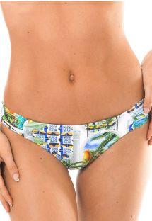 Bas de bikini brésilien fixe imprimé - CALCINHA PARATY PACIFICO