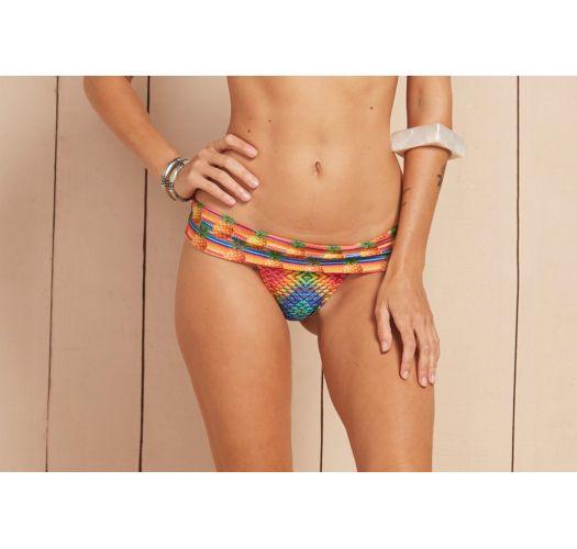 Pineapple pattern  bottom with waistband - CALCINHA PRESTIGIO