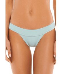 Luxurious pale blue bikini bottom - BOTTOM BOUCLE KNOT BRALETTE MALDIVES