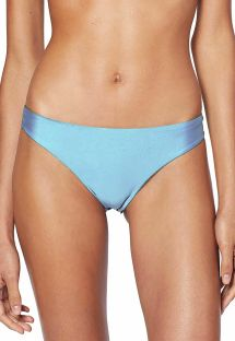 Light blue cheeky bikini bottom - BOTTOM CROPPED LISO AZUL