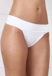 Weiße Brazilian Bikinihose mit Revers - BOTTOM FRENTE ÚNICA BRANCO BEACHCRAFT