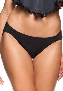 Black fixed bikini bottom - BOTTOM AGUA DOCE
