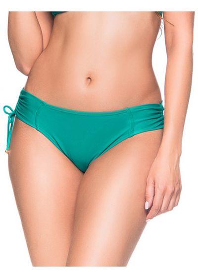 Side-tied green bikini bottom - BOTTOM ALÇA ARQUIPELAGO