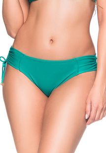 Side-tied green bikini bottom - BOTTOM ALÇA ARQUIPELAGO