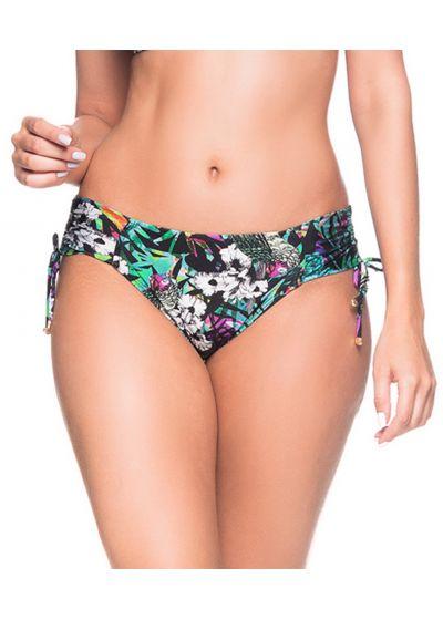 Buntgeblümte Bikinihose mit Seitenschnüren - BOTTOM ALÇA ATALAIA