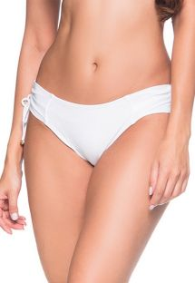 Side-tied white bikini bottom - BOTTOM ALÇA BRANCO