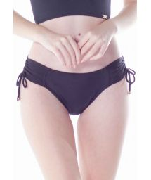 BOTTOM BABADO CROPPED PRETO