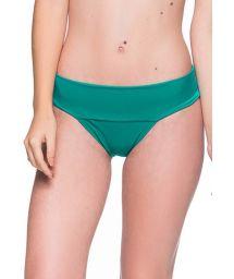 Grönbrasiliansk nederdel med brett midjeband - BOTTOM BASE ARQUIPELAGO
