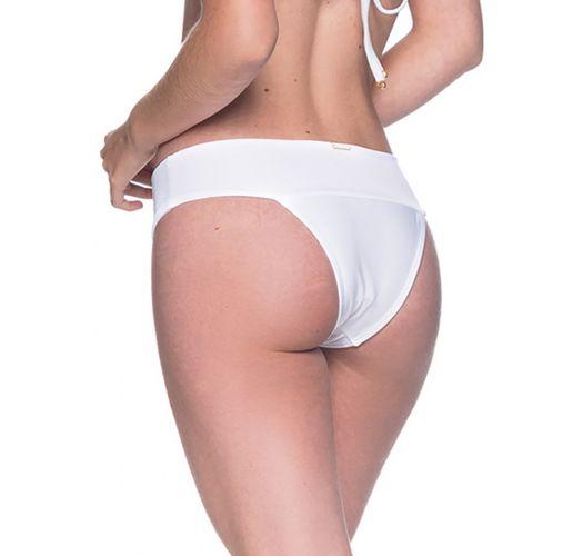 Weiße Bikinihose mit breiten Seiten - BOTTOM BASE BRANCO