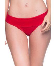 Rote Bikinihose mit breiteren Seiten - BOTTOM BASE MULUNGU