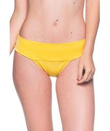 Gulbrasiliansk nederdel med brett midjeband - BOTTOM BASE PAELLA