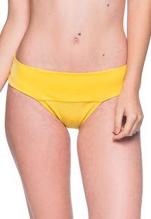 Gelbe Bikinihose mit breiten Seiten - BOTTOM BASE PAELLA