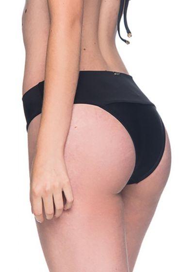 Black larger side bikini bottom - BOTTOM BASE PRETO