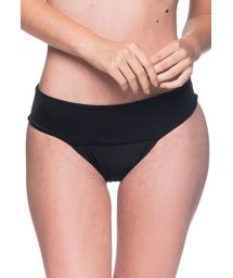 Black larger side bikini bottom - BOTTOM BASE PRETO