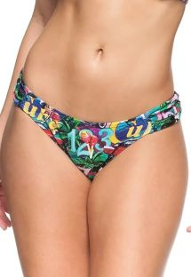 Fixed bikini bottom - colorful Cuba print - BOTTOM BETTA CUBA