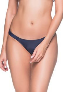 Navy blue fixed string bikini bottom - BOTTOM BOJO MIRAMAR