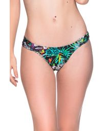 Colorful bikini bottom in floral print - BOTTOM BOLHA ATALAIA