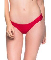 Rote ausgeschnittene Bikinihose - BOTTOM BOLHA MULUNGU