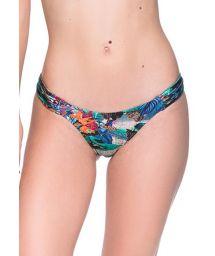 Tropical print bikini bottom - BOTTOM BOLHA NORONHA FLORAL