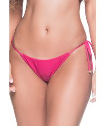 Pink side-tie bikini bottom - BOTTOM CORTININHA TROPICALIA