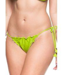 Lime green side-tie Brazilian bikini bottom - BOTTOM CRISTO REDENTOR