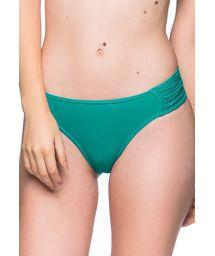 Green tab side bikini bottom - BOTTOM DRAPEADA ARQUIPELAGO