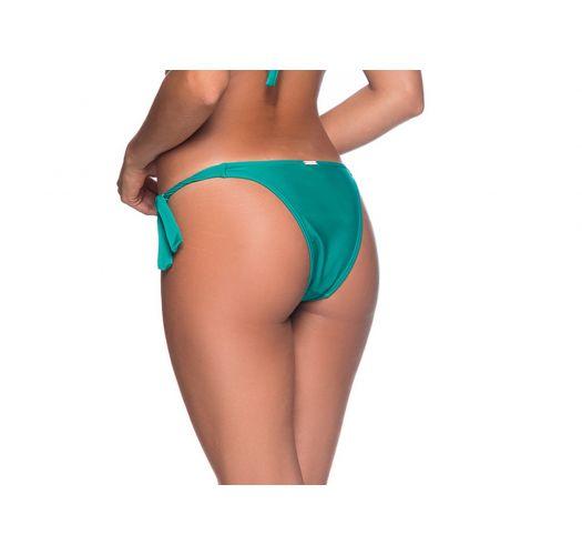 Green side-tie bikini bottom - BOTTOM FAIXA ARQUIPELAGO