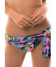 Bikini-UnterteilPareo-Stil - kubanischer Druck - BOTTOM ILHA DE CAPRI