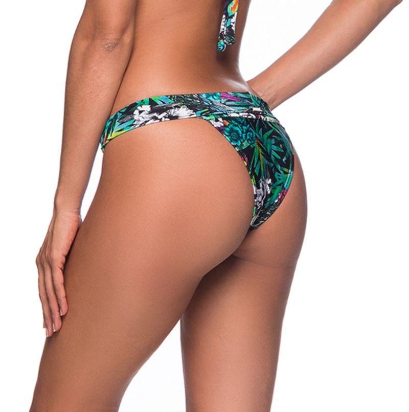 Buntgeblümte feste Bikinihose mit Steinen - BOTTOM PEDRA ATALAIA