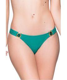 Grüne feste Bikinihose mit Schmucksteinen - BOTTOM PEDRAS ARQUIPELAGO