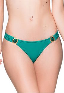 Green fixed bikini bottom with stones - BOTTOM PEDRAS ARQUIPELAGO