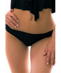 Black fixed bikini bottom - BOTTOM RICO LITORAL