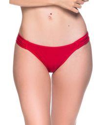 Rote Bikinihose mit plissierten Seiten - BOTTOM TURBINADA MULUNGU