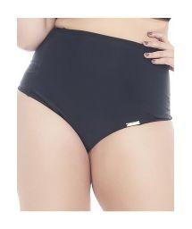 High waisted, low cut, black bottom, large sizes - CALCINHA PORTO BELO