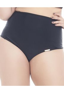 High waisted, low cut, black bottom, large sizes - CALCINHA PORTO BELO