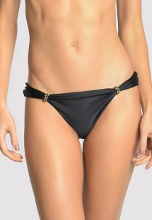 BOTTOM ADJUSTABLE HALTER BLACK