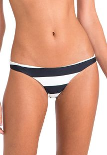 Luksuriøs fastsiddende bikinitrusse med striber - CALCINHA BASIC ATHLETIC STRIPES