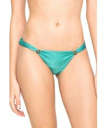 Adjustable accessorised swimsuit bottom - CALCINHA CARIBE