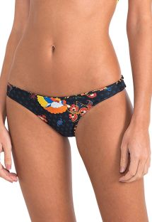 Luxus-Wende-Bikinihose mit bunten Motiven - CALCINHA FOLK EMBROIDERED ATHLETIC