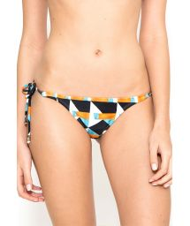 Geometric swimsuit tanga with side ties - CALCINHA LACINHO ORIGAMI