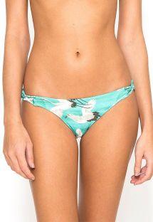 Braguita de bikini brasileño de lujo con lados trenzados - CALCINHA TIRAS CRUZADAS NAOMI