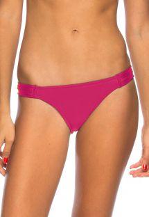 Dark pink string bikini bottom - BOTTOM BAROCA
