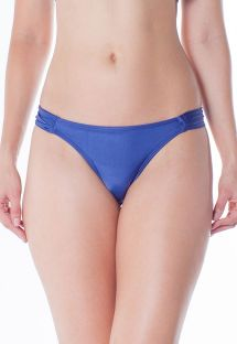 BOTTOM BOLHA DRAPE ARARA AZUL