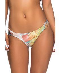 Geometric pastel print Brazilian bikini bottom - BOTTOM BOLHA GEOMETRIC ART