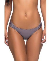 Grey skimpy Brazilian bikini bottom - BOTTOM BOLHA VINTAGE
