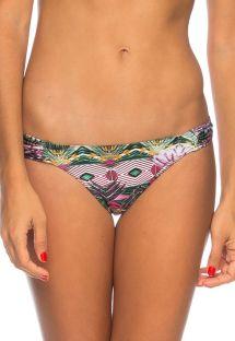 Ethnic floral Brazilian bikini bottom - BOTTOM CONTO DA SEREIA
