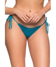 Side-tie Brazilian thong bikini bottom - BOTTOM CORTININHA FRENCH