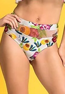 BOTTOM CROPPED TULE FRUTAL