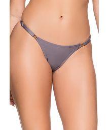 Grey adjustable string bikini bottom - BOTTOM CROPPED VINTAGE