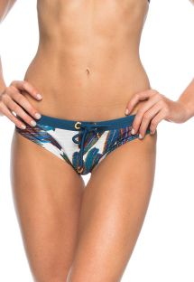 Printed bottom with lacing - BOTTOM FEATHER STAR
